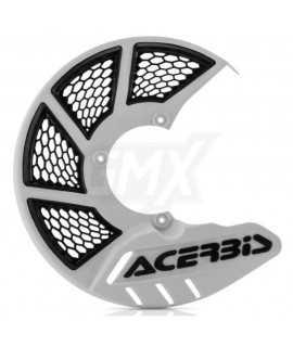 protege disque ACERBIS blanc ventilé
