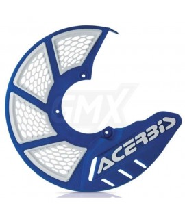 protege disque ventilé ACERBIS bleu blanc