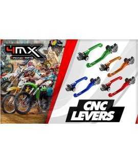 paire de levier 4MX SXF-EXC/F 14-20, HVA 14-17 et 2019 et SHERCO 15-20