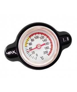 bouchon radiateur 4MX 1.8 thermomêtre HVA, HUSABERG, KTM 03-15 noir