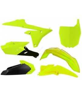 kit plastique RACETECH 250/450 YZF 14-16 jaune fluo