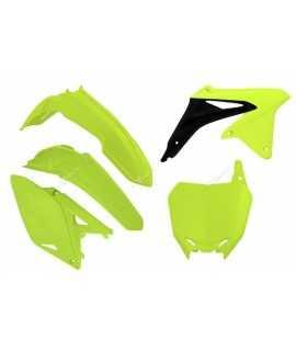 kit plastique RACETECH 250 RMZ 10-16 jaune fluo