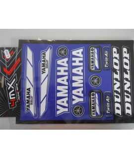 planche sticker YAMAHA 23cm x 32cm