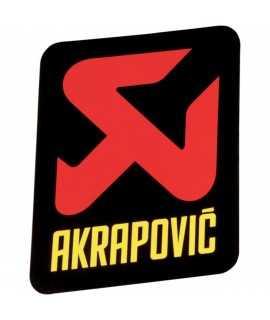 sticker AKRAPOVIC pour silencieux 4T