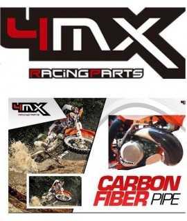 protege pot carbon 4MX 125/150 SX et EXC 12-16, 125 TC-TE 14-15