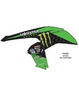 kit deco monster kawasaki 450 kfx