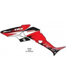 kit deco honda 450 trx rouge