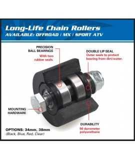 roulette chaine 400 LTZ 03-15
