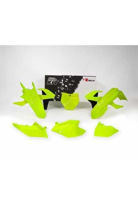 kit plastique RACETECH SX/F 16- jaune fluo