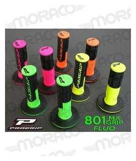 poignées PRO GRIP 801 fluo / noir (4 coloris)