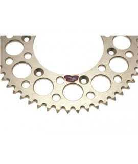 couronne alu RENTHAL pour KTM silver