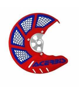 protege disque ventilé ACERBIS rouge bleu