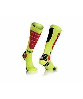 chaussette ACERBIS MX-impact jaune rouge