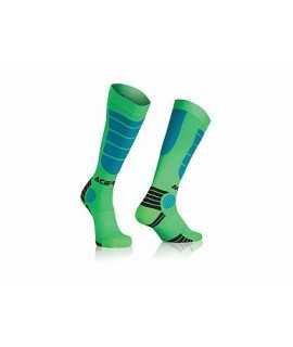 chaussette ACERBIS MX-impact bleu vert