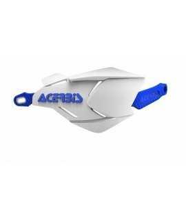 protèges mains ACERBIS X-FACTORY blanc/bleu