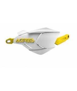 protèges mains ACERBIS X-FACTORY blanc/jaune