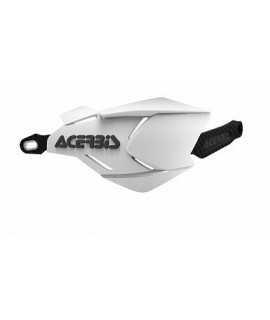 protèges mains ACERBIS X-FACTORY blanc/noir