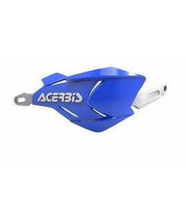 protèges mains ACERBIS X-FACTORY bleu/blanc