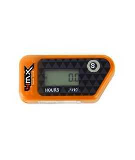 compteur d'heure 4MX sans fil orange