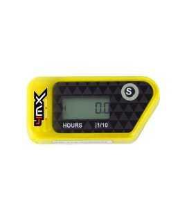 compteur d'heure 4MX sans fil jaune