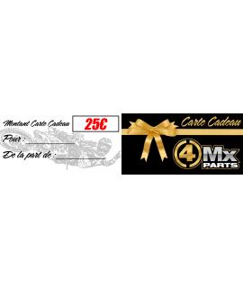bon cadeau 4MX-PARTS 25€