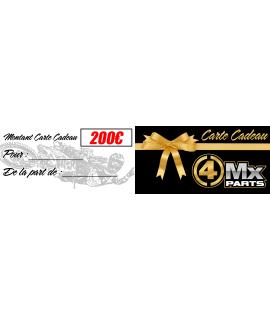 bon cadeau 4MX-PARTS 200€