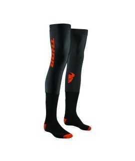 Chaussettes longues Thor COMP black/orange