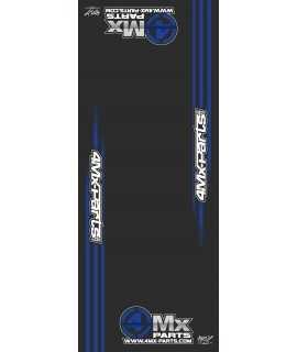 tapis de sol 4MX PARTS bleu 200X80cm