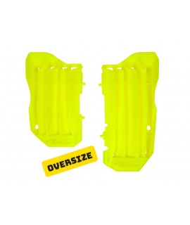 grille radiateur 450 CRF 17-18 et 250 CRF 18- jaune fluo
