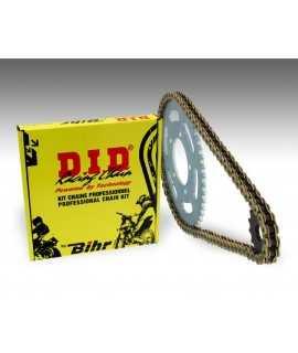 Kit chaîne D.I.D 520 type VX2 13/52 (couronne standard) KTM/Husaberg/Husqvarna EXC250 13/52 (2TEMPS)