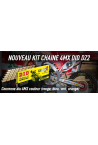 kit chaine 4MX DID DZ2 250 CR 88-07 et 450 CRF 04-18