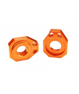 Tendeur de chaîne SCAR orange KTM/Husqvarna