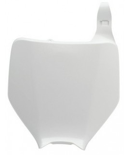 plaque avant kx 96-98 blanche