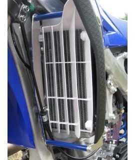 Protection de radiateur AXP alu bleu Yamaha 250 YZF 10-13 et 250 WRF 10-13