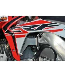 Protection de radiateur AXP alu rouge Honda CRF450R 15-16