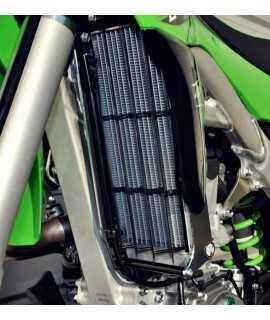 Protection de radiateur AXP alu noir Kawasaki KX450F 16-18