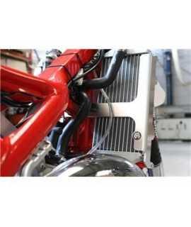 Protection radiateur AXP rouge RR125 2018-2019