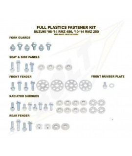 Kit vis complet de plastiques Bolt Suzuki RM-Z450/250