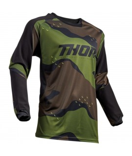 maillot THOR SECTOR rouge