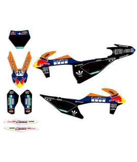 deco KTM SX/F 19 replica GO PRO WASHOUGAL black edition