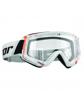 masque combat goggles web orange/white
