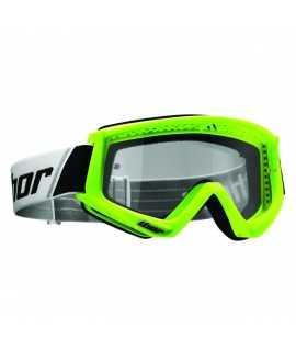 masque combat goggles flo green/black