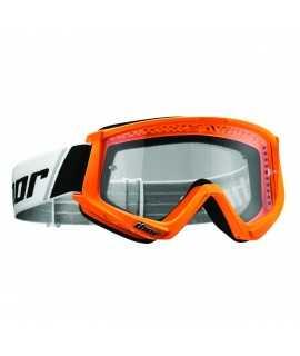 masque combat goggles flo orange/black