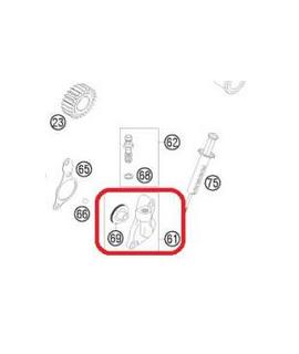recepteur embrayage KTM SXF 06-10