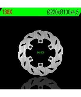 disque arriere wave NG pour 125/250/500 KX 89-02