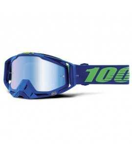 masque 100% Racecraft dreamflow mirror blue lens