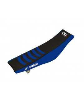 Housse de selle BLACKBIRD Double Grip 3 noir/bleu Yamaha YZ85