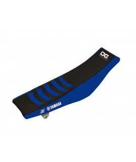 Housse de selle BLACKBIRD Double Grip 3 noir/bleu Yamaha YZF 14-17 et WRF 15-18