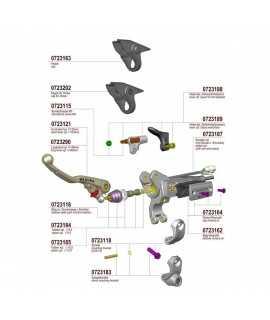 kit reparation embrayage magura 9.5mm 167