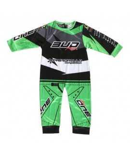 Pyjama BUD Racing 1 piece vert